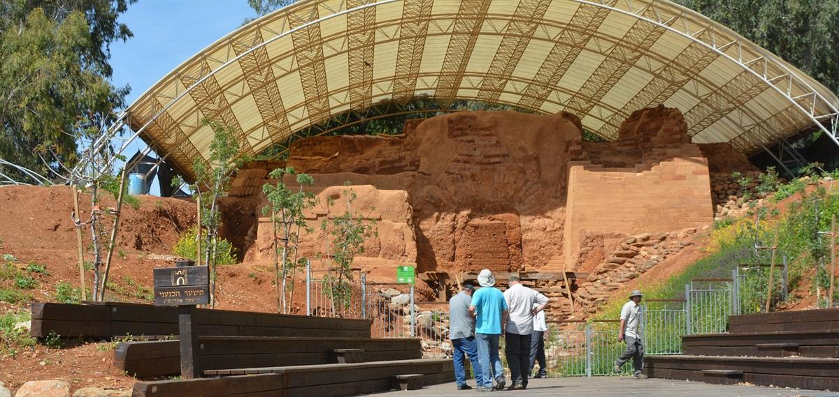 השער הכנעני, תל דן