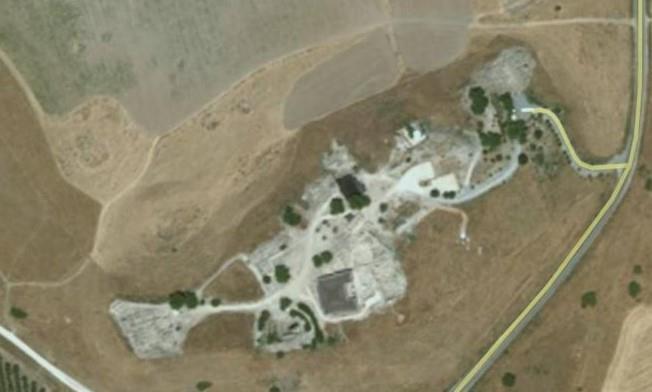 תל חצור, תבע גן לאומי 11